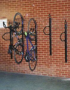 Vertical Bike Rack | Indoor