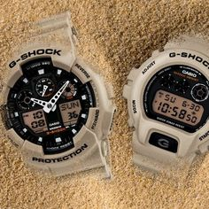 Introducing the Military Sand Collection - two new timepieces inspired by desert sand terrain. #gshock