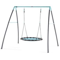 Hook up the Plum Metal Mist range to your hosepipe and add some water fun to the garden. With this springtime twist children can chill-out and swing into the mist spray; just switch on the unique water feature and cool off during playtime. Outdoor Spa, Nest Swing, Swing And Slide, Swing Seat, Teal And Grey, Mist Spray, Galvanized Metal, Mists, Plum