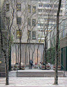 City Oasis by Lilliana Mendez