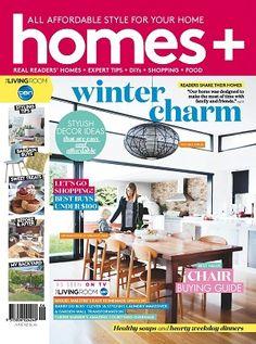 #homes+ #magazines #covers #2016 #June #winter #home #family #DIY #renovating #interior #garden #design