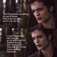 I hate him for leaving, but love him for returning Twilight Saga New Moon, Twilight Quotes, Twilight Saga Series, Twilight Book, Twilight Edward, Twilight Pictures, Christian Grey, Movie Quotes, Book Quotes