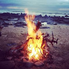 fires on the beaches x
