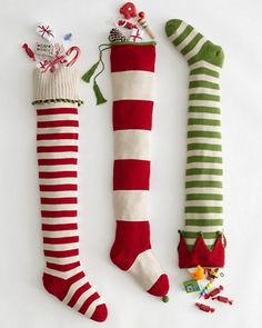 I'm starting from scratch on our stockings this year. Click through for 20 cute options I've found!