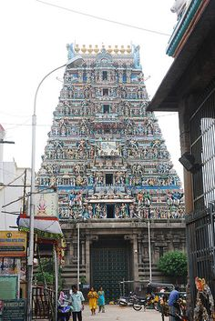 Mylapur Chennai // my relatives live right around the corner from the temple!