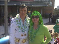 Elvis spotted in South Boston for St. Patrick's Day parade.