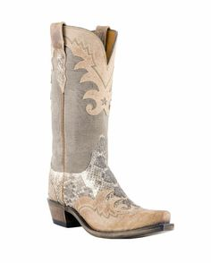 "Well I think I'd feel like a badass if I were wearing some ""Rattlesnake Mad Dog Goat"" boots... lol ;)"