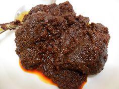 Resepi Rendang Tok Istimewa Bahan-Bahan: 600 gm daging 3 sudu makan ketumbar-dikisar 3 sudu makan jintan manis-ditumbuk halus 3 sudu makan jintan putih-dig