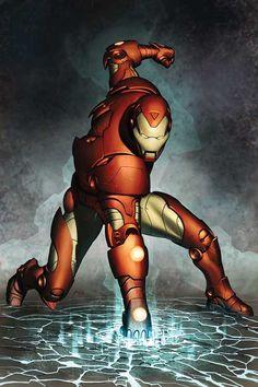 Dibujo de Adi Granov para la portada de The Invincible Iron Man vol 3, 76, incluido en el tomo El Invencible Iron Man: Secretario de Defensa. http://www.paninicomics.es/web/guest/titulo_detail?viewItem=674612