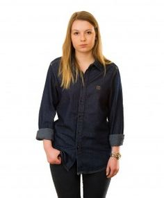 Urban Thane's Denim Shirt Denim Shirt, Urban, Shirts, Collection, Tops, Women, Fashion, Moda, Shell Tops