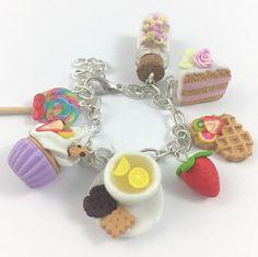 Sweet pendantsMiniature Food Polymer Clay Miniatures Fake