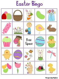 I created another bingo activity for the upcoming Easter holiday. This activity includes 6 different bingo cards and corresponding bingo chi. Easter Bingo, Easter Games, Easter Activities, Easter Speeches, Language Activities, Speech Activities, Easter Holidays, Bingo Cards, Craft Materials