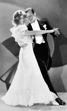 Fred Astaire and Ginger Rogers.