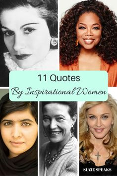 Some of my favourite quotes for International Women's Day