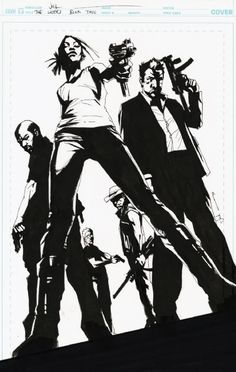 The Losers by Jock | pulp comics cover art