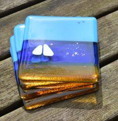 Summer Bliss Fused Glass Coasters: http://www.ebay.co.uk/sch/amao1202/m.html https://www.etsy.com/uk/shop/AmandaPullinGlass