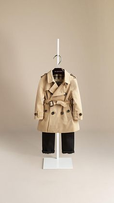 Honey The Wiltshire - Heritage Trench Coat - Image 1boy
