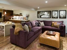 candice olson family room designs | Chic Basement Decorating ideas by Candice Olson - Candice Michelle ...