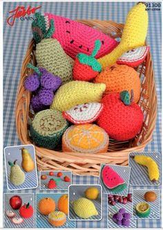 zelicroches: Como fazer frutinhas