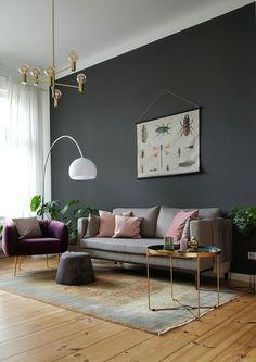Die 82 besten Bilder von wandfarbe Wohnzimmer   Wandfarbe ...