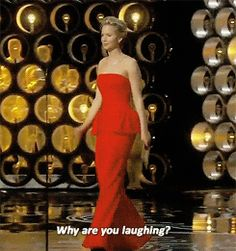 All the Times Jennifer Lawrence Was Very Jennifer Lawrence-y During the 2014 Oscars   E! Online