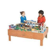 KidKraft 2 In 1 Espresso Train U0026 LEGO Activity Table   SendJoe Kids    Pinterest   Lego Activity Table, Lego Activities And Toy