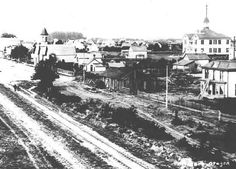 Front Street Woodburn, Oregon, 1893