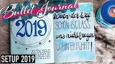 MEIN BULLET JOURNAL SETUP 2019 I deutsch Bullet Journal, Cover, Deutsch, Slipcovers