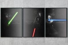 Star Wars Jedi Art Print - Star Wars Gift