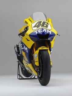 Valentino Rossi's 2006 Yamaha YZR-M1