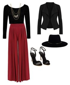 """""""Untitled #9"""" by sonalkailey on Polyvore featuring Boohoo, Zimmermann, Donna Karan and Stella & Dot"""