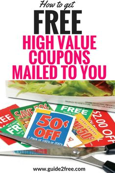 Did you know that you can email companies to request FREE Coupons By Mail? You can tell them how much you like their products, or hate them, or even tell them you just want to try them for the first time. A lot of times they will send you FREE Coupons B Free Coupons By Mail, Cigarette Coupons Free Printable, Free Stuff By Mail, Free Printable Coupons, Get Free Stuff, Free Food Coupons, Coupons For Free Stuff, Coupons For Sale, Free Coupons Online