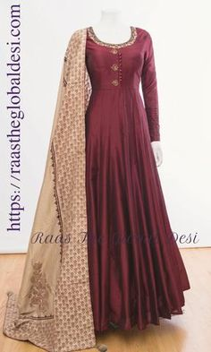 AG1371-ANARKALI & GOWN-Raas The Global Desi-[ANARKALI_GOWN_ONLINE_USA]-[INDIAN_CLOTHES_ONLINE_USA]-[RECEPTION_GOWN_ONLINE_USA]-[WEDDING_GOWN_ONLINE_USA]-[SALWAR_KAMEEZ_ONLINE_USA]-Raas The Global Desi