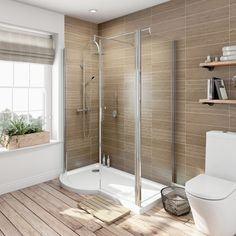 6mm Keyhole Shower Enclosure Pack 1500 x 695 x 900 LH Special Offer - £179