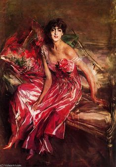 untitled (6705) by Giovanni Boldini (1842-1931, Italy) - Thx WahooArt