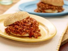 Kids can help whip up Rachael's one-pot crowd-pleaser with her Sloppy Joe Di Maggios. Remember, they're messy by definition, so have lots of napkins on hand.