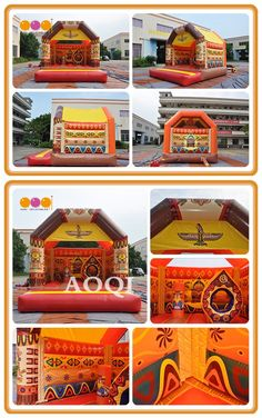 This large bouncing room can provide many kids to play at the same time. Inflatable Bouncers, Special Events, Play, Room, Fun, Kids, Design, Bedroom, Young Children