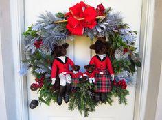 Fox Hunting Wreath REDUCED Equestrian Wreath by HorseWreaths