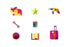 Microsoft Lumia icons designed by Hey. #icon #pictogram