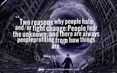 Why People Fear Unknown -