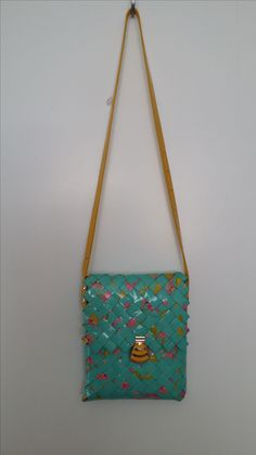 Candy wrapper bag from gift papers