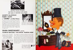 Double page spread from Film Daily