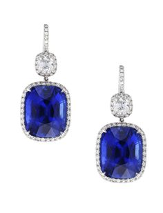 Leviev sapphire earrings, need we say more?