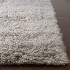 the super fuzzy rug we're thinking for the nursery