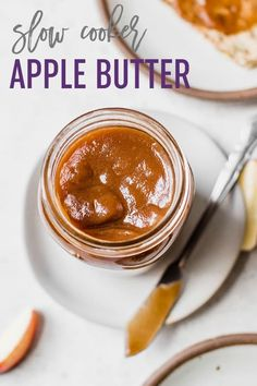 Cooker Apple Butter Slow Cooker Apple Butter :: An easy apple butter recipe full of warm spices that you can make right in the crock pot!Slow Cooker Apple Butter :: An easy apple butter recipe full of warm spices that you can make right in the crock pot! Chicken Curry, Butter Chicken, Slow Cooker Apples, Slow Cooker Recipes, Crockpot Recipes, Cooking Recipes, Slow Cooking, Apple Recipes, Bread Recipes