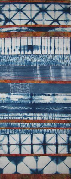 Antipodean Adventure, by Debra De Lorenzo, New Zealand, 2012; from Beneath the Southern Sky — A travelling exhibition of contemporary textile works