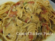 Cajun Chicken Pasta a cheap dinner under $5