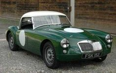 Very rare Works car in excellent condition and ready to race          Factory built works car Before the official launch of the MGA in 1955, three aluminium bodied prototypes of the new sports car, coded EX182, were entered for Le Mans. Here they acquitted themselves well, finishing fifth and sixth in their class. Although the bodies had been substantially lightened and the cars ran with an aluminium half-tonneau, they were almost identical to the production cars which followed them…