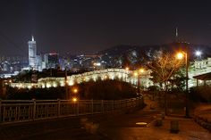 View from Naksan Park in Seoul    As you can see, views from this park are absolutely magnificent, esepcially if you are looking for a place other than Namsan to view the city from.