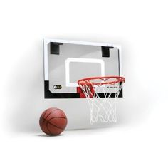 mini basketball hoop (or 2)